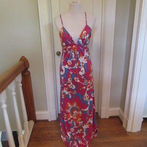 JB by Julie Brown Maxi Dress Mod Retro
